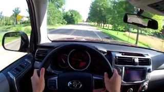 2013 Toyota 4Runner - WINDING ROAD POV Test Drive