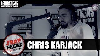 """Chris Karjack est passé par les studios de la radio Generations (Paris) pour un freestyle """"J'rap mieux qu'toi"""" avec Dj Roc J."""
