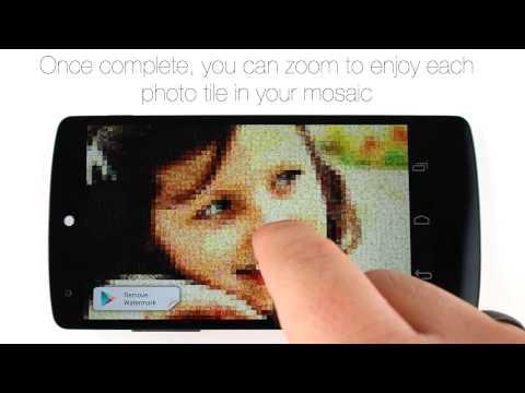 Video of Mosaic Photo Creator-MosaicAce