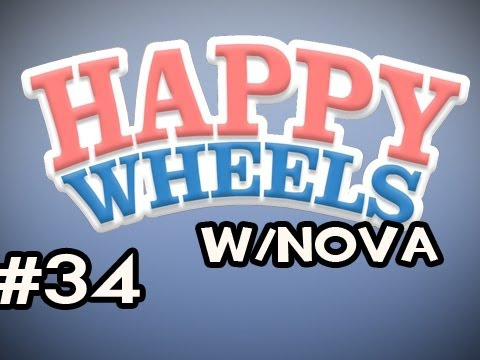 Happy Wheels w/Nova Ep.34 - WILL NOT RAGE QUIT Video
