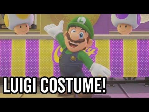 Super Mario Odyssey - Luigi Costume