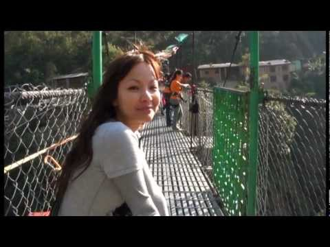 "Jaifan's Bungee Jumping Nepal, ""The Last Resort"" No.3 highest in the world! on X-mas eve 2011"
