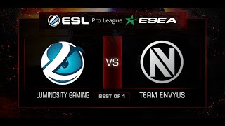 Luminosity vs EnVyUs, game 1