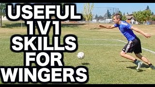 Soccer moves for wingers  Easy soccer skills and effective soccer tricks to get past a defender as a winger in soccer ►In this video you will learn useful soccer moves to beat a defender which are especially helpful if you want to know how to play winger in soccer or football.These are some of the best 1v1 soccer moves and football tricks to use because they are easy soccer skills and effective soccer skills that will actually work in real game situations.Many players overcomplicate their soccer tricks to get past defenders especially when they are learning how to play winger in football. The truth is... you don't need fancy soccer tricks or fancy soccer skills you need effective soccer moves to beat defenders that you can rely on.This video will teach you some of the best soccer moves and football tricks to use as a winger in soccer or football.Other Progressive Soccer videos related to this topic:My Top 5 Soccer Moves ► Useful Soccer Tricks and Soccer Skills = https://www.youtube.com/watch?v=Mife5Bwk0CUSoccer Moves That Drive Defenders Crazy! = https://www.youtube.com/watch?v=Q-ITE4WOZ0020 Soccer Moves Tricks And Skills To Beat A Defender - Messi Skills, Ronaldo Skills, Neymar Skills = https://www.youtube.com/watch?v=keHEy4VcbmwHow To Play Winger In Soccer - How To Play Midfield In Football  = https://www.youtube.com/watch?v=OmJ9Z83WaUUAre you new to Progressive Soccer?Subscribe so you never miss a new training video:► http://www.youtube.com/subscription_center?add_user=ProgressiveSoccerGet started with this FREE 7 day training course:► http://www.progressivesoccertraining.comReady to take your game to the next level?Get more information about my advanced training course:► http://www.matchwinnermethod.com If you have any questions you'd like to ask me you can:1) Comment on this video2) Send me a message on social media (any of the accounts above)3) Send me an email at info@progressivesoccertraining.comStay connected on social media!Facebook:► Join the group: https