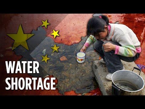 Proč Číně dochází pitná voda