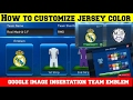 Pes Club Manager Android  Gameplay HOW TO EDIT TEAM EMBLEM, CUSTOMIZE JERSEY COLOR, IMAGE IMPORT #83