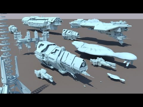 Starships size comparison (Halo)