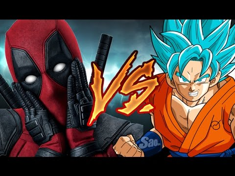 Deadpool VS Goku | ¿Quien Gana? | Explicado