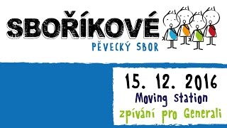 Video SBOŘÍKOVÉ v Moving station - Voda živá