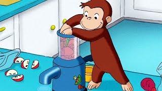 Video Curious George 405   Juicy George   Full Episode   HD   Cartoons For Children MP3, 3GP, MP4, WEBM, AVI, FLV Juni 2018
