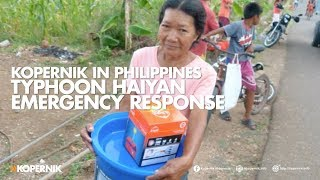 Kopernik's Philippines Typhoon Emergency Response: One Year On