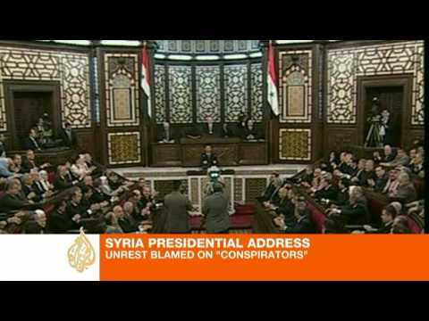 Assad warns Syria faces 'test of unity'