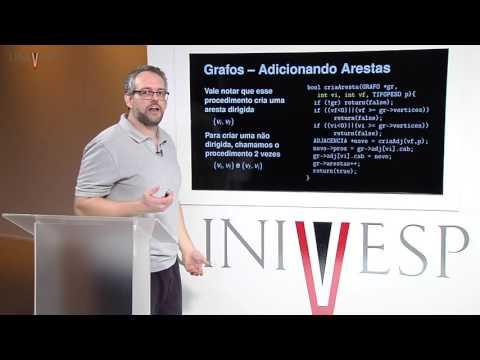 Estrutura de Dados - Aula 25 - Grafos - Operações básicas