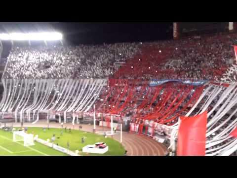 Video - River Plate 1 vs. boca jrs. 0 - Copa Sudamericana 2014 - Recibimiento - Los Borrachos del Tablón - River Plate - Argentina