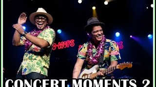 Bruno Mars - CONCERT MOMENTS 2 ♥