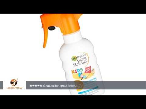 Garnier Ambre Solaire SPF 50 Resisto Swim Kids Spray 200 ml | Review/Test