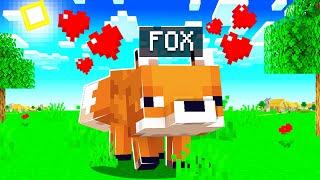 I FOUND A FOX!! | Minecraft Hardcore Noodle Planet [#4]