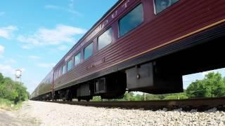 Burkeville (VA) United States  city photos gallery : N&W J611 Steam Locomotive - Burkeville, VA - June 14, 2015 - GoPro