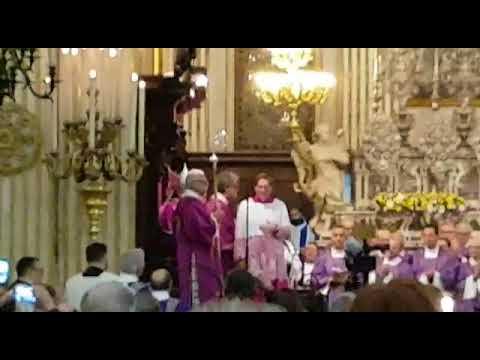 Parroci e fedeli del teramano a Lecce per l'insediamento di Michele Seccia FOTO VIDEO