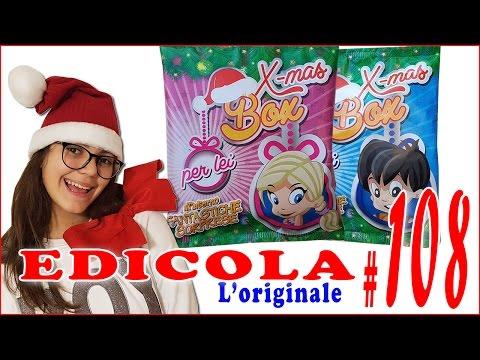 EDICOLA #108: Apriamo insieme 2 Christmas Box (Sorprese di Natale) by Giulia Guerra (видео)