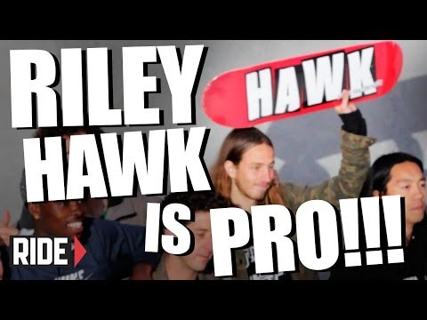 riley - Andrew Reynolds gathers Tony Hawk and the Baker boys to wish Riley a happy birthday and welcome him to the pro ranks. Congratulations Riley! SUBSCRIBE to RID...