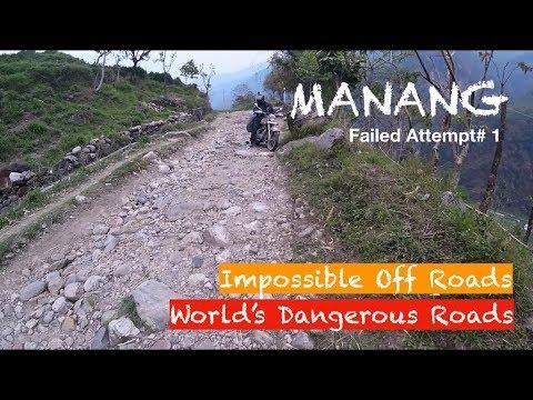 Day6-7 | Manang | Failed Attempt#1 | World's Dangerous Roads