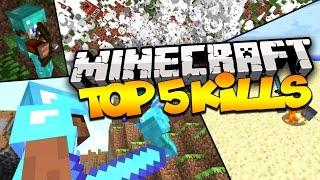 Top 5 Minecraft Kills - INCREDIBLE KILLS! (Episode 1)