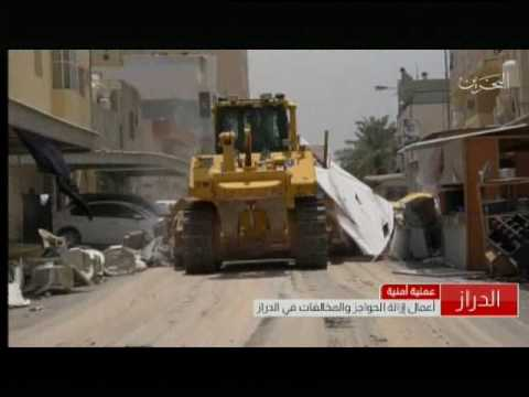 The security operation in the village of Duraz to remove barriers and violations 23/5/2017