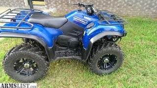 10. 2014 Yamaha Grizzly 450