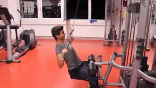 In diesem Video zeige ich euch, wie man die Übung: Latzug richtig ausführt. Viel Spaß mit dem Video!