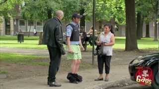 Hidden Camera - Biker Humiliates Cops
