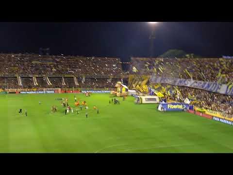 Recibimiento Central vs Olimpo 17-2-18 - Los Guerreros - Rosario Central - Argentina - América del Sur