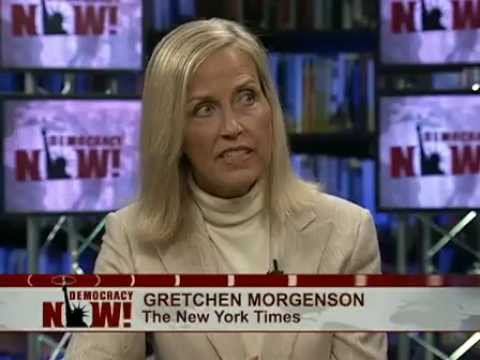 gretchen morgenson - DemocracyNow.org - Democracy Now! interviews New York Times business reporter Gretchen Morgenson about her investigations on the causes of the financial cris...