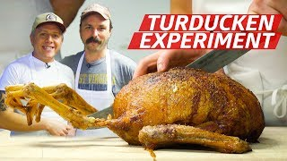 Can the Turducken Be Improved by Stuffing More Birds Inside Each Other? — Prime Time by Eater