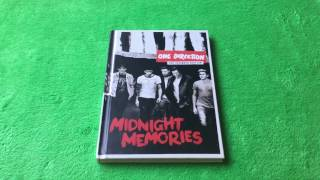 One Direction Midnight Memories Album Unboxing
