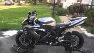 2. 2004 Yamaha R1 walk around