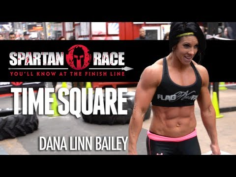 bailey - Dana Linn Bailey, Team X-Treme, Tiki barber and more tackle the Spartan Race Demo on a Freezing cold January day In time square. Please take a minute to chec...