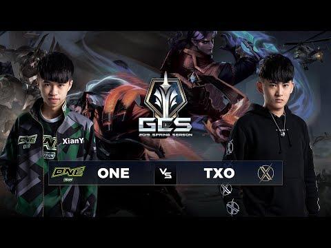 ONETeam  vs TXO - Tuần 9 Ngày 2 - GCS Mùa Xuân 2019 - Thời lượng: 2:43:04.