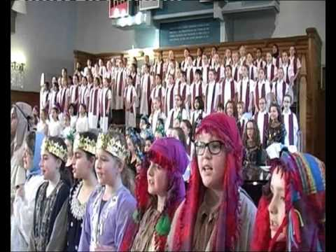Junior Girls' Christmas Performance - Shepherds' Song
