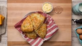 Cheddar Cheese and Green Onion Scones by Tastemade