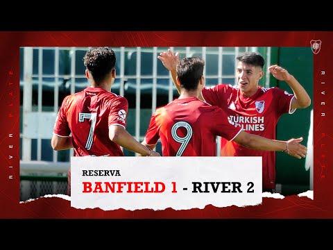¡Sobre la hora!  Los goles de la Reserva para ganarle a Banfield