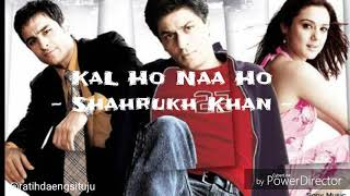 Video Kal Ho Naa Ho - Shahrukh Khan (Lirik+Terjemahan) MP3, 3GP, MP4, WEBM, AVI, FLV Agustus 2018