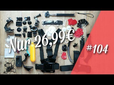 Erligpowht GoPro 4 5 6  / Sjcam 4000 / Xiaomi yi Zubehör // deutsch // in 4K // #104