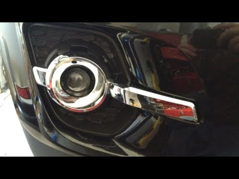 DIY How To Install GM Fog Lights 2010 2011 2012 Chevy Equinox