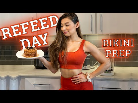 BIKINI PREP| 6 WEEKS OUT, REFEED DAY, PREP UPDATE | UNSTOPPABLE SERIES EPISODE 4