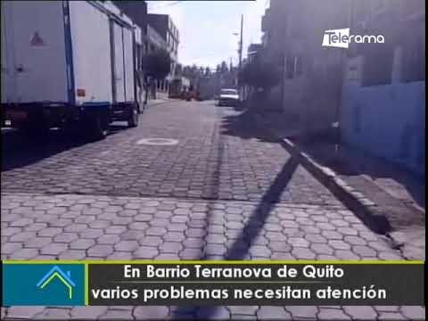 En barrio Terranova de Quito varios problemas necesitan atención
