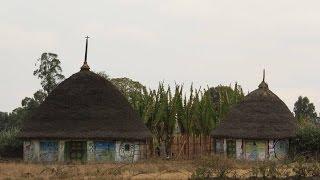 Silte-Dorf In Äthiopien