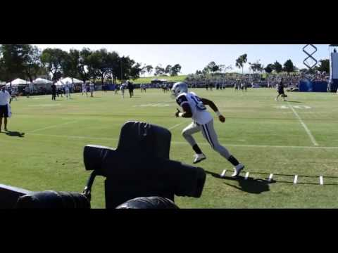 Happy Feet: The Dallas Cowboys version of footwork day 4 of camp
