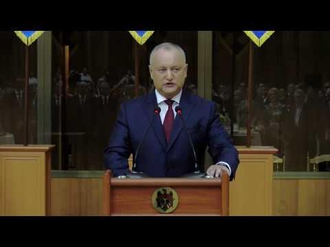 Выступление Президента Республики Молдова господина Игоря ДОДОНА, посвященное 27-й годовщине независимости Республики Молдова