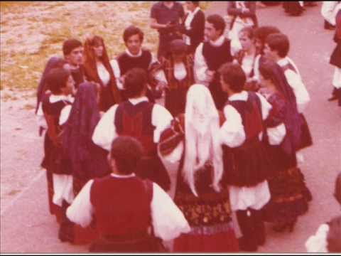 3 - Cavalcata Sassari 1976 -Tenore de Orune.